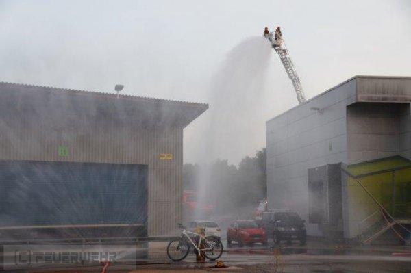Alarmübung vom 08.09.2017  |  (C) Feuerwehr Möhlin (2017)