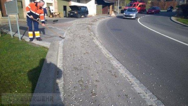Verkehrsregelung nach VU